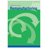 International Journal of Remanufacturing